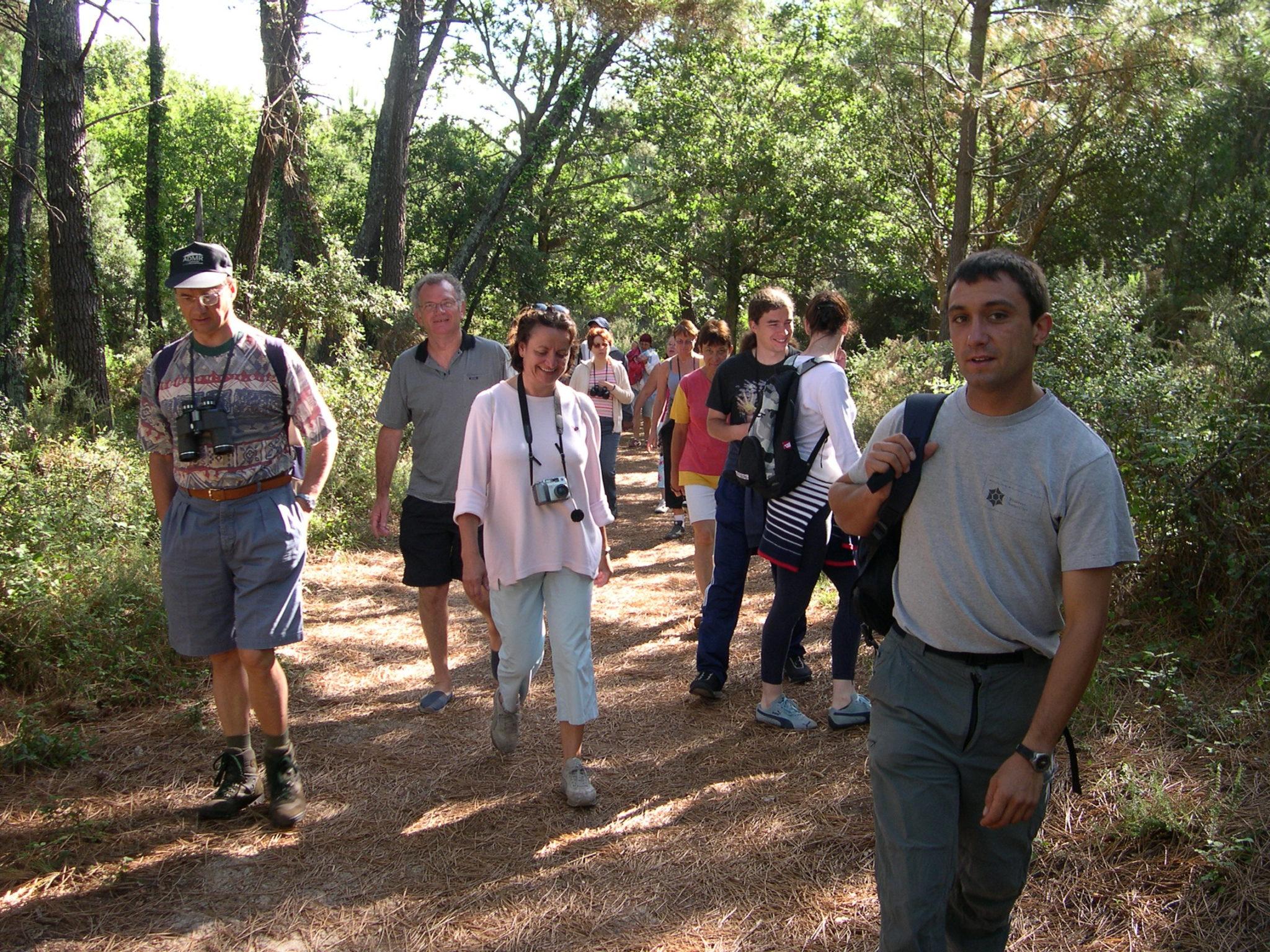 Visite guidée Réserve Naturelle Courant d'Huchet