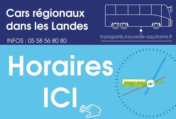 Transport Régional dans les Landes