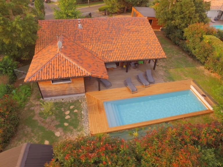 Maison Chênes Lièges Océan_Moliets_Landes Atlantique Sud