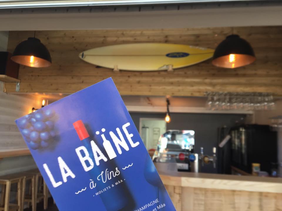 La Baïne à vins-Moliets-Landes Atlantique Sud