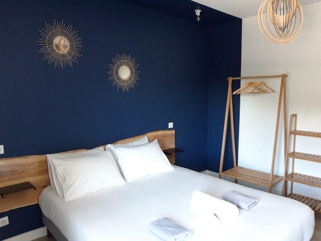 Chambre  double 4 L'Expression – St-Jean-de-Marsacq – Landes Atlantique Sud
