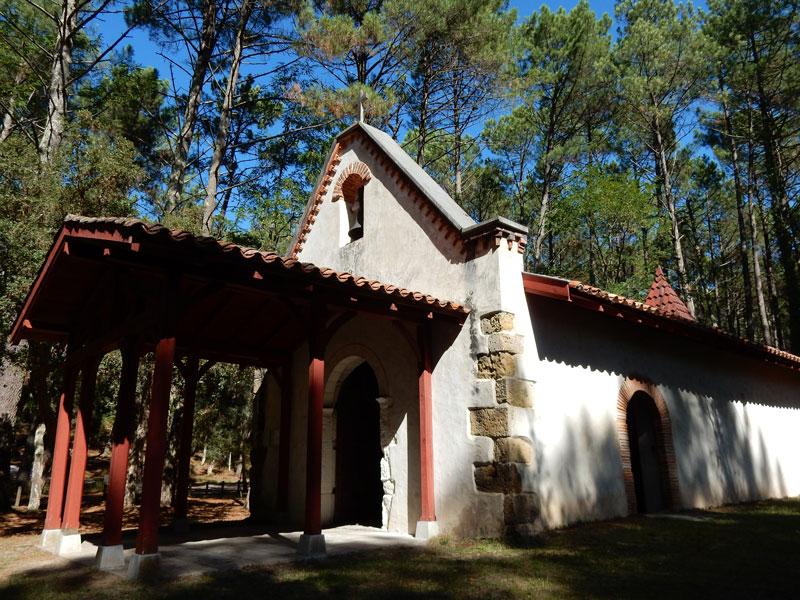 Chapelle de Maâ-Moliets-Landes Atlantique Sud