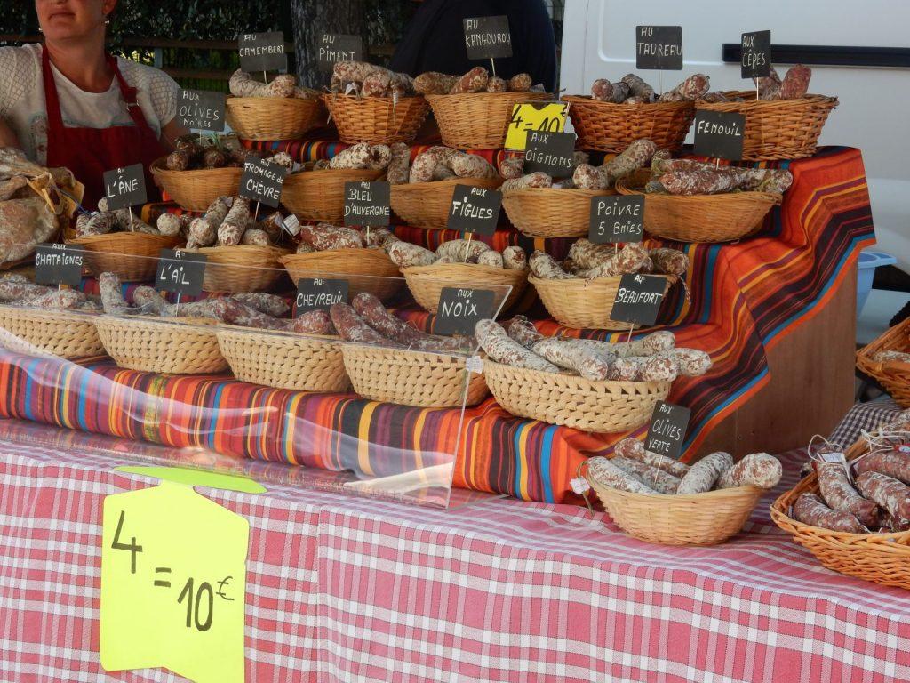 Marché traditionnel saisonnier-Moliets-Landes Atlantique Sud
