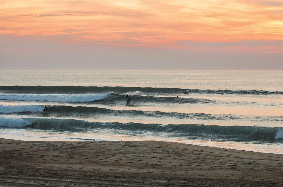 Ecole de surf et skate @Soonline Moliets plage cours et stage de surf et skate – location matériel et vélo – pro shop – surf sunset