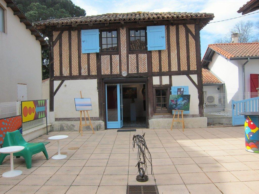 Galerie Reg'Arts en Marensin_Moliets_Landes Atlantique Sud