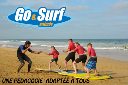Go and surf -lecon