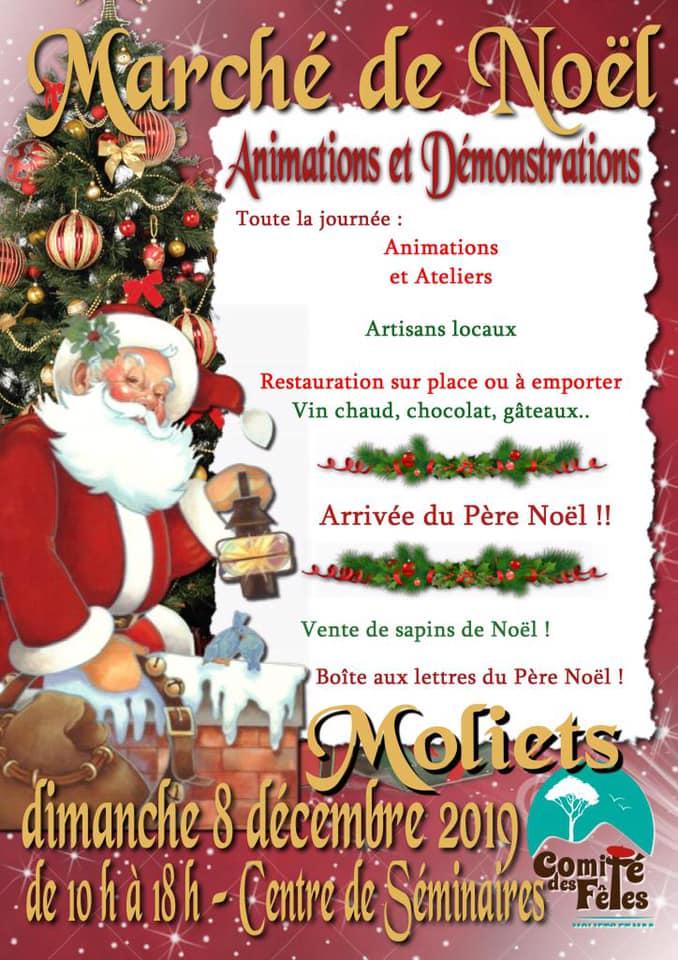 Marche-Noël- Moliets-Landes Atlantique Sud