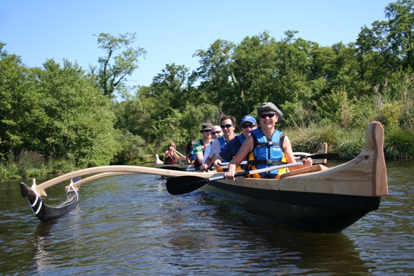 Naeco pirogue famille