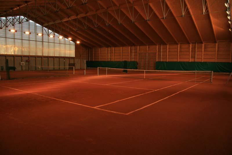 Tennis Terre battue couvert