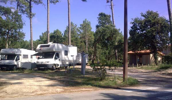 Aire de Camping Car Moliets
