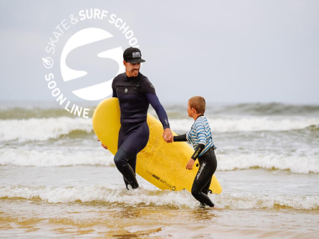 cours et stages de surf tous niveaux école de surf Moliets surf & skate Soonline prof de surf Thomas PHOTO Nico Pina Calvin